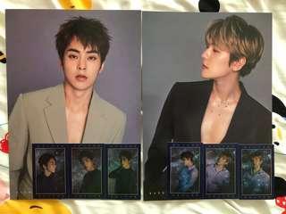 🚚 Exo 2019 seasons greetings xiumin minseok and baekhyun set