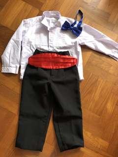Boy Tuxedo Shirt & Pants