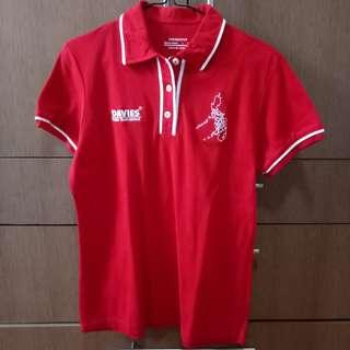 Davies Red Polo Shirt
