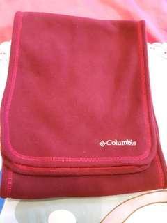 🚚 九成新【哥倫比亞】品牌圍巾 換季出清 聚酯纖維刷毛