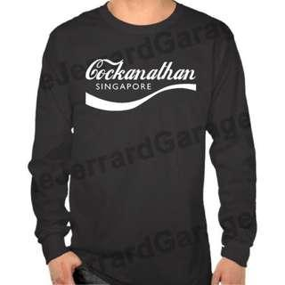 Cockanathan Singapore Long Sleeve T-Shirt