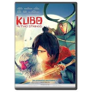 DVD (DVD & BOX ONLY, NO COVER ART) - KUBO AND THE TWO STRINGS (ORIGINAL USA IMPORT CODE 1)