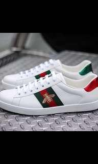 Gucci sneakers with box and dust bag