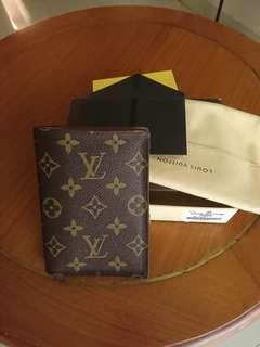 Louis Vuitton Passport Cover Monogram