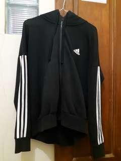 Adidas 3 stripes Hoodie Jacket Zipper