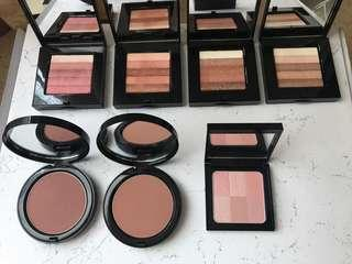 Bobbi Brown highlighters and bronzer