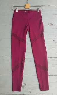 Ready stock old navy maroon legging size s