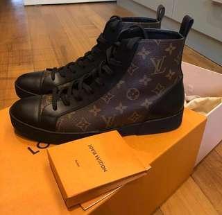 LV match-up sneaker boot