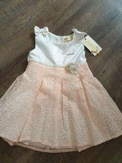 Brand new Floral princess baby girl dress