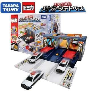 日本Tomica 玩具 緊急出動 警察基地 不含車