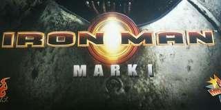 🚚 Iron man mark 1(hot toys movie masterpiece)