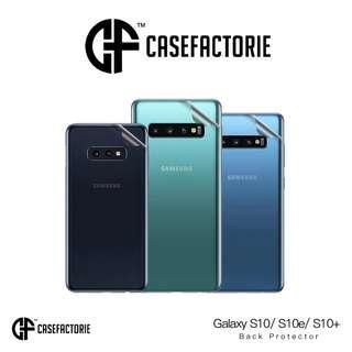 Casefactorie Back Protector Samsung Galaxy S10 Plus/S10/S10e