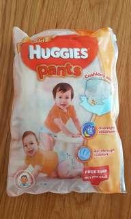 Huggies pants diapers