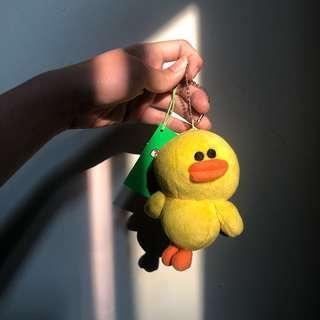 🚚 正版 Line 莎莉 小雞 娃娃 吊飾