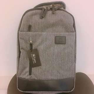 🚚 Lynx灰色雙肩後背包 電腦包 bag