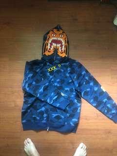 PO: Best Quality Bape Tiger Hoodie