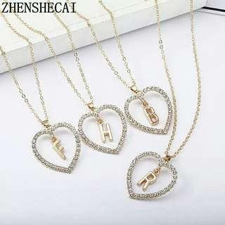 🚚 Albhabet necklace