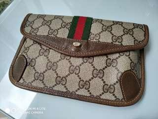 Dompet Pouch Gucci Accessory Collection Vintage