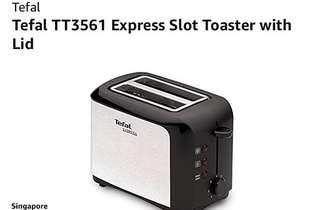 🚚 Moving out sale Tefal TT3561 Bread Toaster