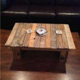 Pre order Pallet Mini Coffee Table