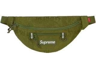 Supreme SS19 Olive Waist Bag