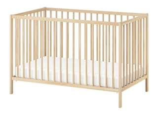 Baby Cot Ikea with mattress
