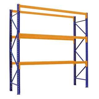 Selective Pallet Racking System (Blue/Orange)