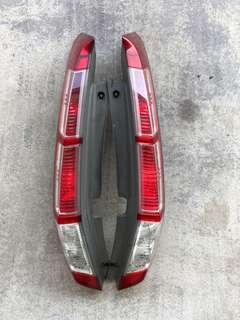 Honda stream rear tail lights