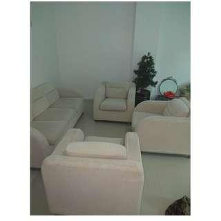 Sofa offwhite Set