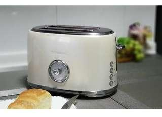 🚚 Electric stainless steel toaster