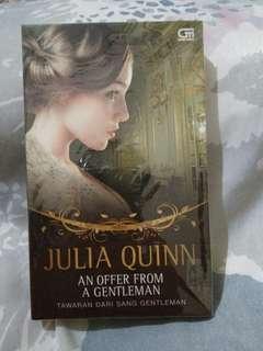 Novel an offer from a gentlemen by julia quinn