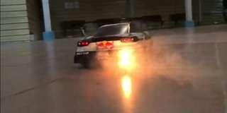 Rc drift - Backfire exhaust Only (not rc car)