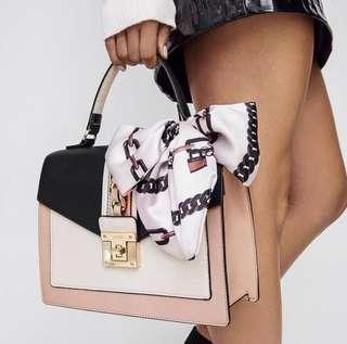 ALDO GLENDAA TOP HANDLE BAG (pink)