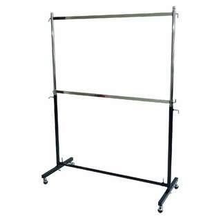 Metal Double tier Garment Rack