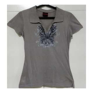 Preloved. Penshoppe Grey Polo Shirt