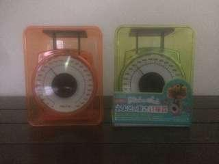 Mini cooking scale