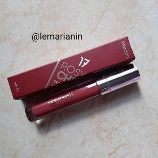 Wardah Matte Lip Cream Rosy Cheek