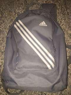 Authentic Adidas Grey Backpack