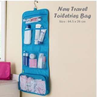 Toilet Organizer / Travel Organizer / Make Up Organizer warna Biru