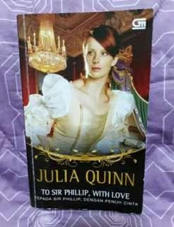Novel to sir phillips, with love by julia quinn