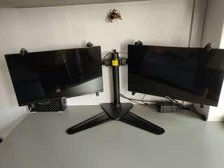 Dell Monitor S2316H ×2 with Dual Monitor Stand