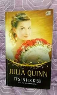 Novel it's in his kiss by julia quinn