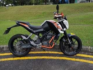 KTM DUKE 200 2016