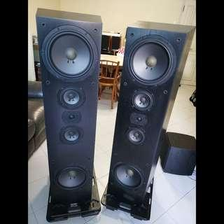 Flagship Acoustic Research Speakers