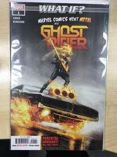 What If? Marvel Comics Went Metal with Ghost Rider #1