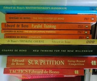 🚚 Edward de Bono books