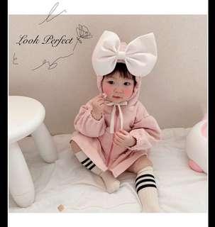 韓國🇰🇷嬰兒夾衣連身衣外套