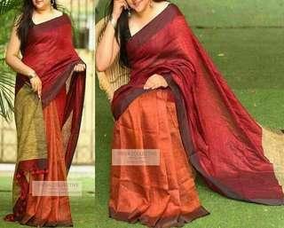 🚚 Cotton handloom sarees