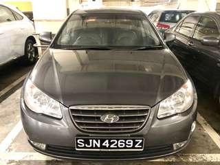 Hyundai Avante 1.6Manual  -  $260/week