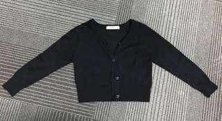 🚚 Girl toddler cardigan black